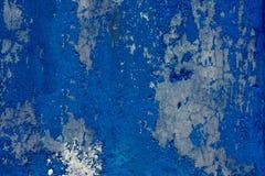 Grunge en de oude doorstane donkerblauwe achtergrond van de muurtextuur Stock Foto