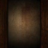 Grunge en houten achtergrond Royalty-vrije Stock Foto's