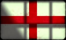 Grunge England Flag Stock Image
