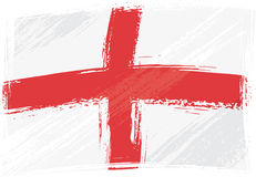 Grunge England flag Stock Photo