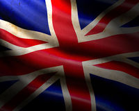 Grunge england flag Stock Photography