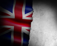 Grunge england flag Royalty Free Stock Photos