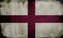 Grunge english flag Royalty Free Stock Photo
