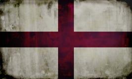 Grunge english flag. English flag with weathered effect Royalty Free Stock Photo
