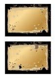 Grunge enmarca liso Imagen de archivo