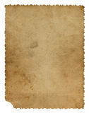 Grunge entfremdete Papierauslegung Stockbilder