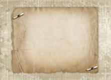 Grunge entfremdete Papierauslegung Stockfotografie