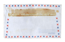 Grunge envelop Stock Photography