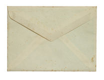 Grunge envelop Stock Photo