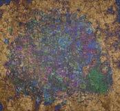 Grunge et rugueux Concept, art, couleur et conception image libre de droits