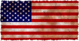 Grunge EUA ilustração royalty free