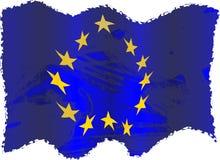 Grunge Europa vector illustratie