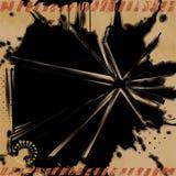 Grunge Explosion Background. Royalty Free Stock Photo