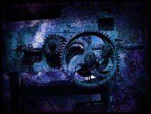 grunge för 5 kugghjul Royaltyfria Bilder