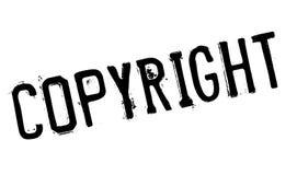 Grunge för Copyright stämpelgummi Royaltyfria Bilder