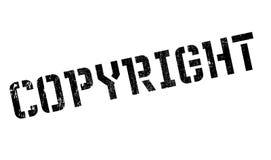 Grunge för Copyright stämpelgummi Fotografering för Bildbyråer