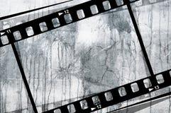 grunge för filmram Royaltyfria Foton