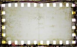grunge för filmram Royaltyfri Foto