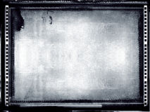 grunge för filmram Arkivbild