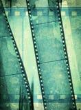 grunge för filmram Arkivfoto
