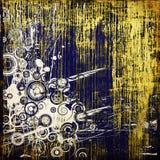 grunge för konstbakgrundsdiagram Royaltyfri Foto