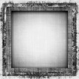 Grunge Fabric Frame Stock Photography