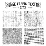 Grunge fabric textures set 3. Royalty Free Stock Image