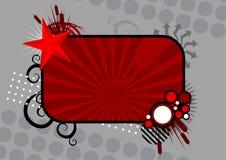 Grunge Fahne vektor abbildung