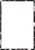 Grunge Feld-Rand Stockbild
