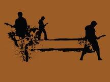 Grunge Felsen-N-rollen stock abbildung