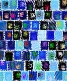 Grunge festive pattern Royalty Free Stock Image