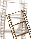 Grunge Film Stock Image