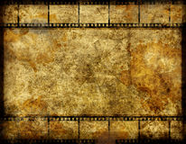 Grunge film background Royalty Free Stock Image
