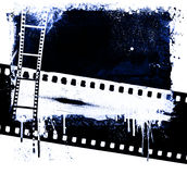 Grunge film background Stock Photos