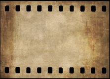 Grunge film background Stock Images
