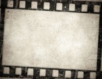 Grunge film background. Nice vintage texture with space for text. Or image Stock Images