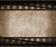 Grunge film background with space for text or image. Grunge film background for text or image royalty free illustration