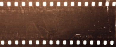 Grunge film de 35 millimètres Photos libres de droits