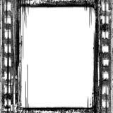 Grunge film frame. Designed grunge film frame background Royalty Free Stock Image