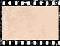 Grunge film frame. Illustration of a grunge filmstrip frame Stock Photo