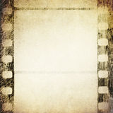 Grunge film frame. Abstract background for design-works Royalty Free Stock Photo