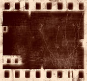 Grunge film frame. With space for text Royalty Free Stock Photography
