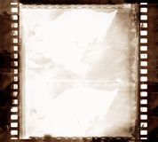 Grunge film frame. Computer designed highly detailed grunge textured film frame with space for your text or image. Great grunge element for your projects Royalty Free Stock Photography
