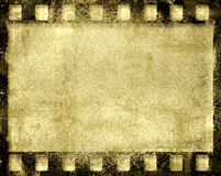 Grunge film frame Stock Photography