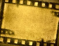 Grunge film frame Royalty Free Stock Photo