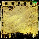 Grunge film frame Royalty Free Stock Photography