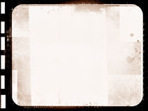 Grunge film frame. Computer designed highly detailed grunge film frame with space for your text or image. Great grunge element for your projects Royalty Free Stock Photo