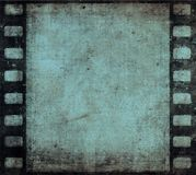Grunge film frame. With space for text Royalty Free Stock Images