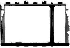 Grunge film frame. Computer designed highly detailed grunge film frame , nice grunge element for your projects Royalty Free Stock Images