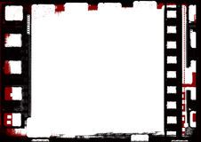 Grunge film frame. Computer designed highly detailed film frame with space for your text or image.Nice grunge element for your projects Royalty Free Stock Photo